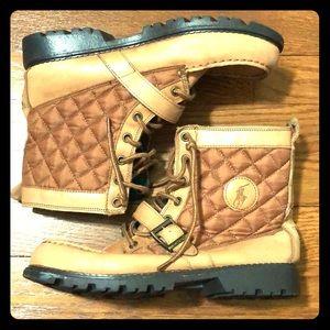 Polo Ralph Lauren Boys Lace Up Boots Size 7